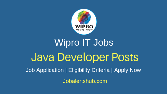 Wipro Limited Java Developer Job Notification