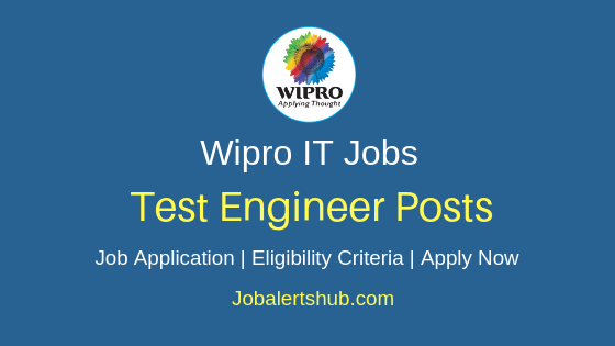 Wipro Limited Test Engineer Job Notification
