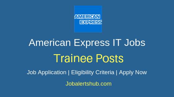 American Express Gurgaon Graduate Trainee 2019 Jobs