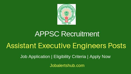 APPSC Assistant Executive Engineer Job Notification