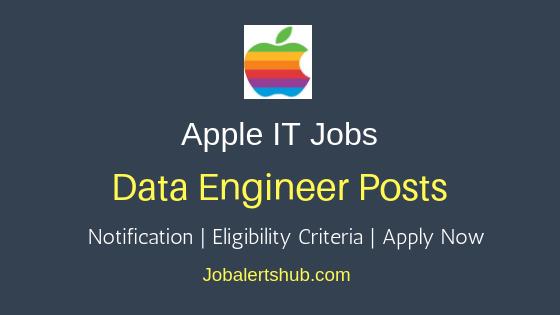 Apple India Data Engineer Job Notification