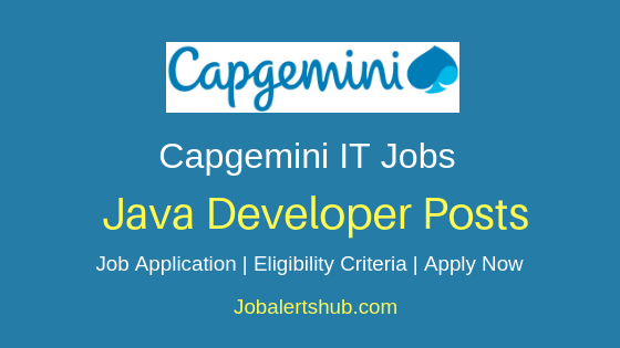 Capgemini Technology Services India Limited Java Developer Job Notification