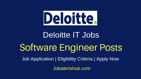 Deloitte US GLS India Software Engineer Job Notification