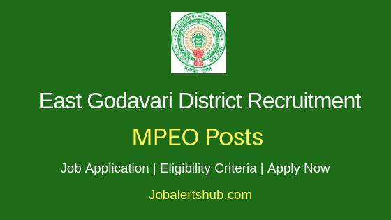 East Godavari District MPEO Job Notification