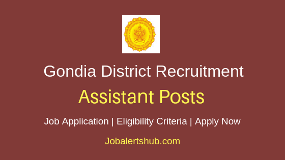 Gondia District Assistant Job Notification