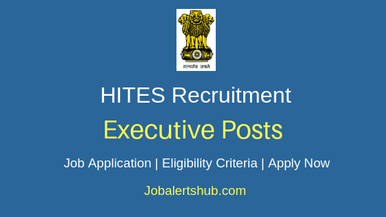HITES Executive Job Notification