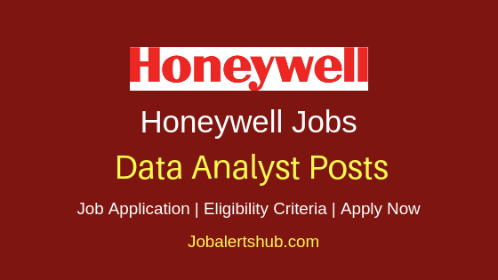 Honeywell Data Analyst Job Notification