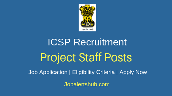ICSP Project Staff Job Notification