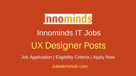 Innominds Software Pvt. Ltd UX Designer Job Notification