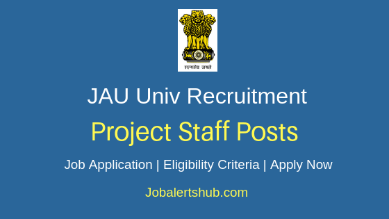Junagadh Agriculture University Project Staff Job Notification