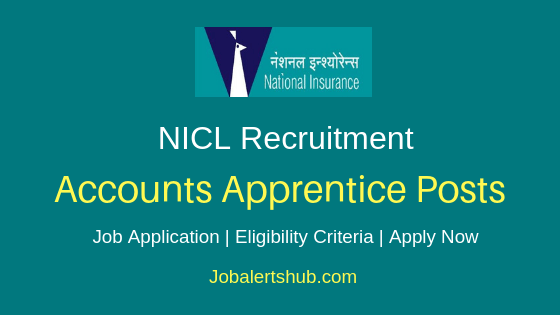 NICL Accounts Apprentice Job Notification