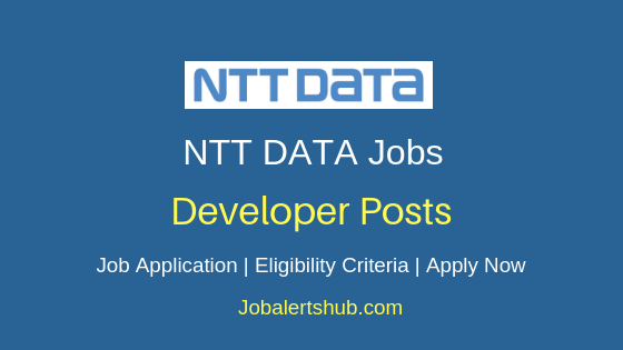 NTT Data Global Delivery Services Limited Developer Job Notification