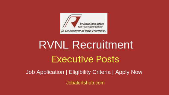 RVNL Executive Job Notification