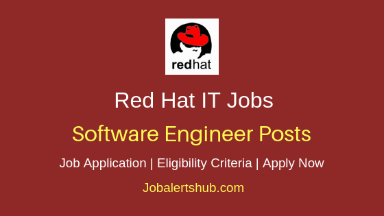 Red Hat India Pvt Ltd Front End Software Engineer Job Notification