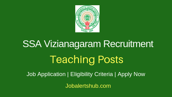 SSA Vizianagaram Teaching Job Notification