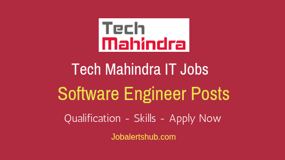 Tech Mahindra Limited Software Engineer Job Notification