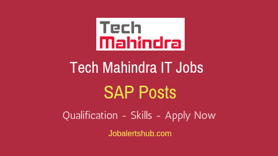 Tech Mahindra Ltd SAP Job Notification