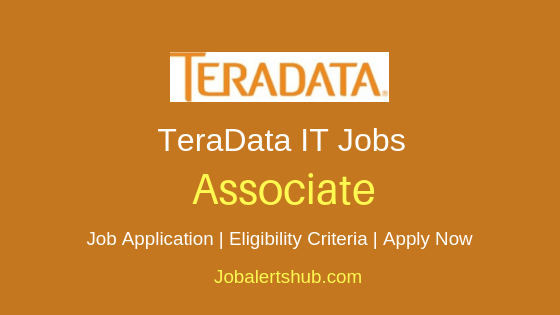 TeraData India Private Limited Associate Job Notification