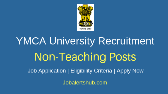 YMCA University Non Teaching Job Notification