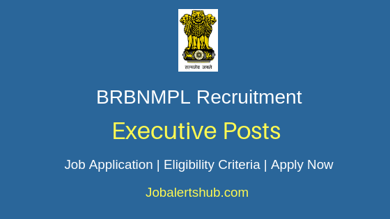 BRBNMPL Executive Job Notification