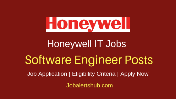 Honeywell India Software Engineer Job Notification