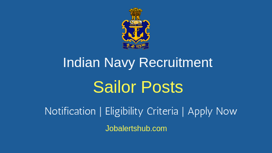 Indian Navy Sailor Job Notification