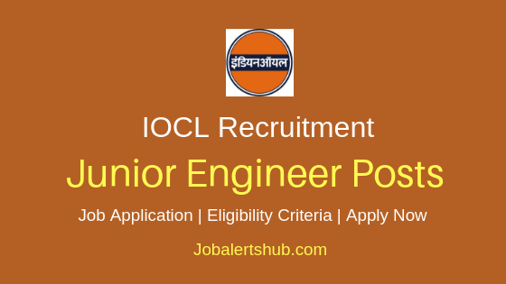 IOCL Junior Engineering Assistant Job Notification