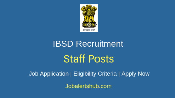 IBSD Staff Job Notification