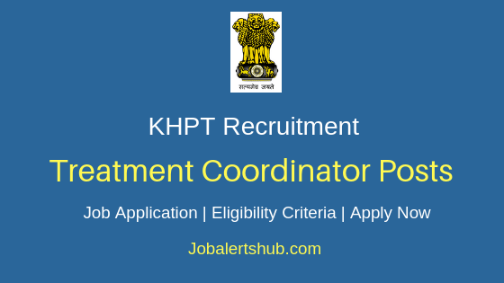 KHPT Treatment Coordinator Job Notification