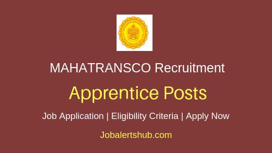 MAHATRANSCO Apprentice Job Notification