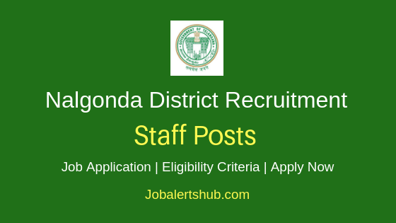 Nalgonda District Staff Job Notification