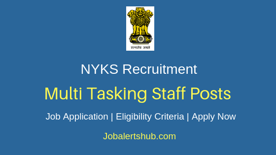 NYKS Multi Tasking Staff Job Notification