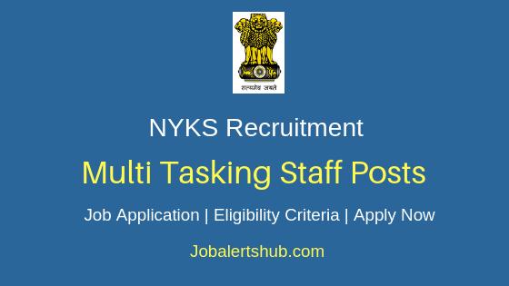 NYKS Multi Tasking Staff Job Notification