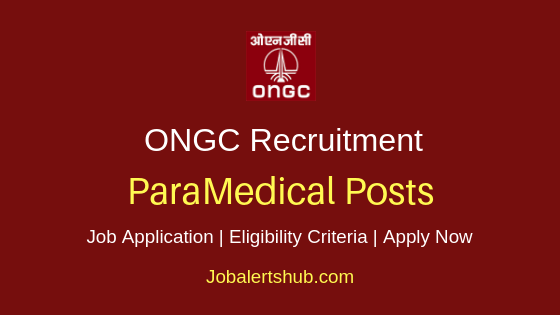 ONGC ParaMedical Job Notification