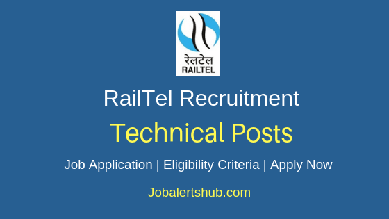 Railtel Technical Job Notification