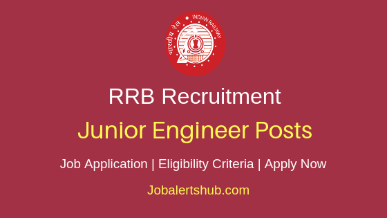RRB Junior Engineer Job Notification