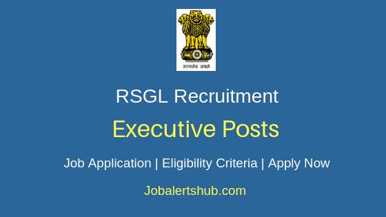 RSGL Executive Job Notification