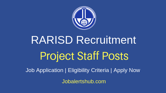 RARISD Project Staff Job Notification