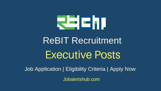 ReBIT Executive Job Notification
