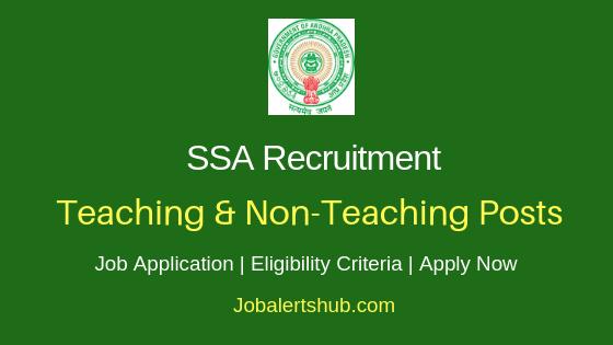 SSA Teaching & Non-Teaching Job Notification