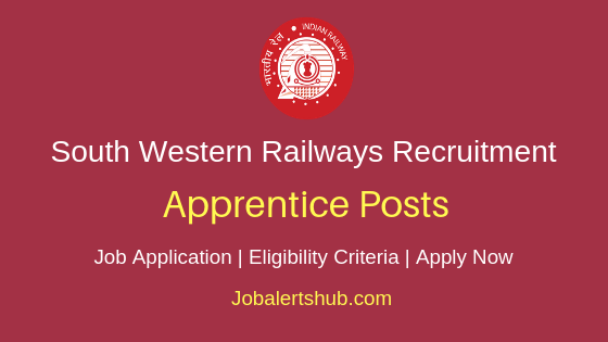 South Western Railways Apprentice Job Notification