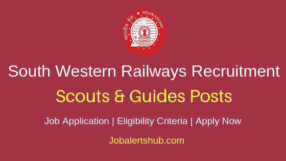 South Western Railways Scouts & Guides Job Notification