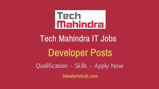 Tech Mahindra Limited Developer Job Notification