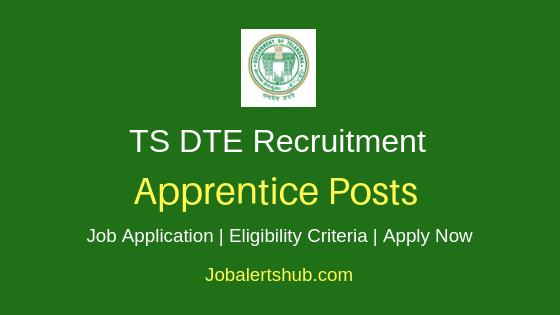 TS DTE Apprentice Job Notification