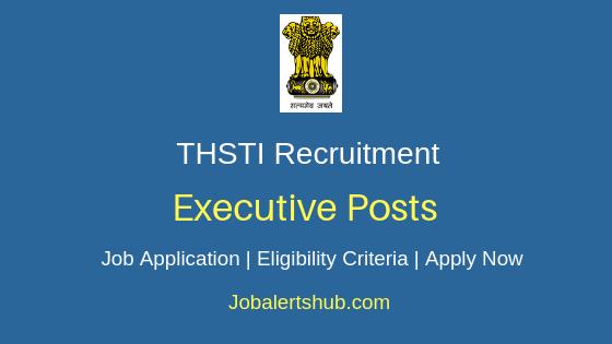 THSTI Executive Job Notification