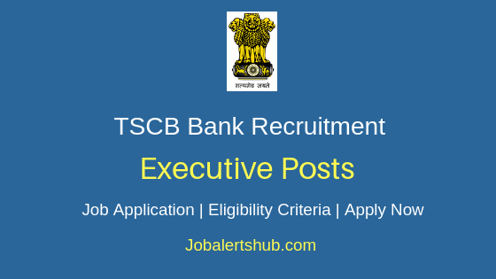 TSCB Bank Executive Job Notification