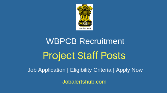 WBPCB Project Staff Job Notification