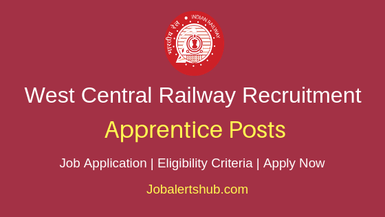 WCR Railways Apprentice Job Notification
