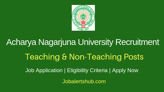 ANU Teaching & Non-Teaching Recruitment 2019
