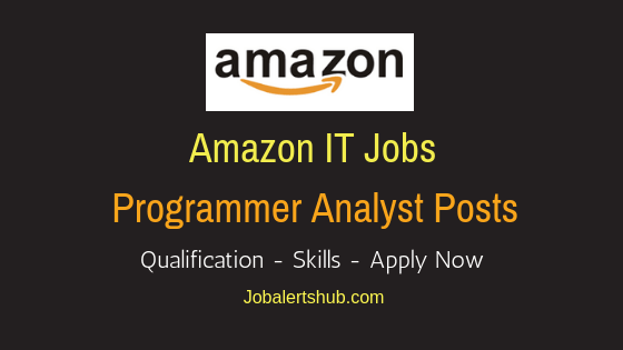 Amazon India Pvt Ltd Programmer Analyst Job Notification